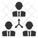 Connection Teamwork Users Icon