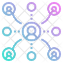 Team Network Group Icon