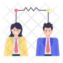 Employees Connectivity Team Connectivity Workers Connectivity Icon