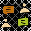 Team Conversation Icon