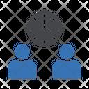 Group Teamwork Employees Icon