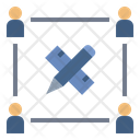 Team Design Architect Icon