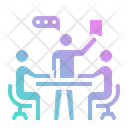 Discussion Meeting Team Icon