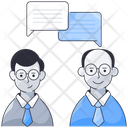 Team Discussion Project Management Icon
