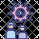 Team Effort Achievement Effective Icon