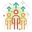 Team growth Icon