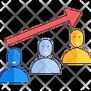 Team Growth Icon