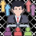 Employee Growth Employee Promotion Employee Development Icon