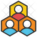 Hierarchy Group Team Icon