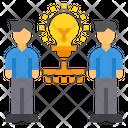 Brainstorm Partner Innovation Icon