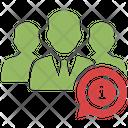 Team Information Network Organization Users Data Icon