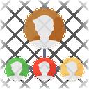 Team Lead Control Team Manage Team Icon