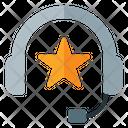 Team Leader Leader Headphone Icon