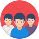 Team Leader Employees Office Staff Icon