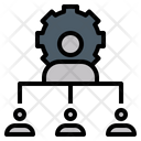 Corporate Collective Teamwork Icon
