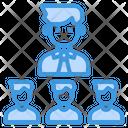Teamwork Team Leader Icon