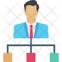 Team Leader Employer Connection Icon