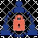 Team Lock Statistics Strategy Icon