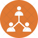 Team Management Businessmen People Connection Icon