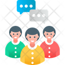 Group Meeting Team Icon