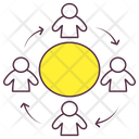 Team Network Community Company Structure Icon