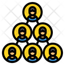 Team Cooperate Group Icon