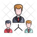Network Connection Team Icon