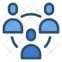 Network People Connection Icon