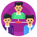 Depute Team Connection Team Structure Icon