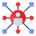 Team Networking Icon