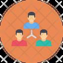 Management Organization Teamwork Icon