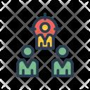 Organization Focus Target Icon