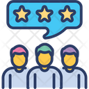 Team Review Appraisal Assessment Icon