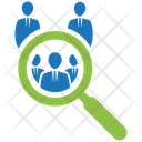 Team Search Team Group Icon