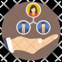 Team Teamwork Collaboration Icon