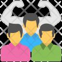 Team Strength Management Icon