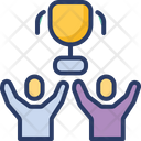 Team Success Group Victory Icon