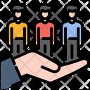 Team Teamwork Partnership Icon