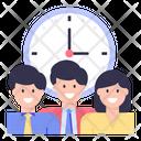 Team Time Icon