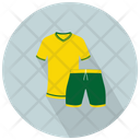 Team Uniform Player Shirt Soccer Shirt Icon