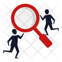Business Search Team Icon