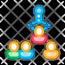 Human Silhouettes Team Icon