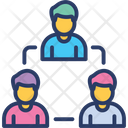 Team Work Together Relationship Icon