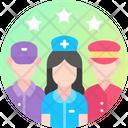Team Work Group Work Management Icon