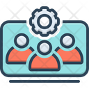 Team Working Icon
