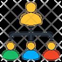 Teamlead Leadership Team Icon