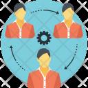Teamwork Management Manager Icon