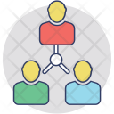 Teamwork Collaboration Cooperation Icon