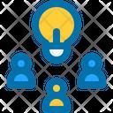 Teamwork Idea Team Icon