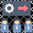Project Teamwork Staff Icon